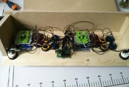 Câblage des boutons et des sticks sur la carte USB