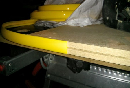 Insertion du t-molding pour voir...